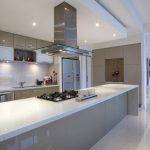 beige contemporary white kitchen