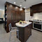 contemporary-oak-wood-kitchen-cabinets
