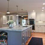 grey white shaker kitchen remodel