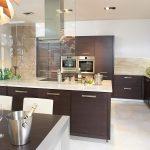 modern wood cabinets